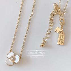 Kate Spade Jewelry   Kate Spade Necklace Flower Necklace   Color: Gold/White   Size: Os