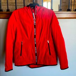 Michael Kors Jackets & Coats | Michael Kors Mid Weight Jacket | Color: Red | Size: M