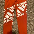 Adidas Pants & Jumpsuits   Brand New With Tags Adidas Leggings   Color: Red/White   Size: S