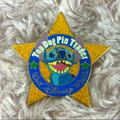 Disney Other | Disney Top Dog Pin Trader Stitch Star Pin | Color: Blue/Gold/Red/White | Size: Os