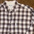 Columbia Shirts | Columbia Mens Grey & Brown Plaid Flannel Shirt | Color: Brown/Gray | Size: L