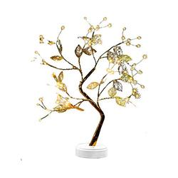 AOZBZ Tabletop Bonsai Tree Light, 72 LED Fairy Light Spirit Tree Lamp, 20 Fairy Spirit Light Tree Celtic Serenity, USB or Battery Powered Artificial Lighted Tree Lamp for Home Decor