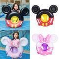 Anneau de natation gonflable pour bébé, bouée, siège de piscine avec poignée, jouets d'eau pour