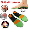 Semelles intérieures de chaussures, pieds plats, Support d'arc élevé, pour fasciite plantaire,