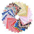 Tissu en coton imprimé Floral, 50/30 pièces, étoffe pour Patchwork, couture, matelassage, bricolage,