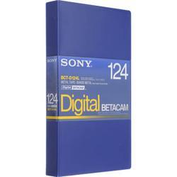 Sony BCT-D124L 124 Minute Large Digital Betacam Cassette BCTD124L/US