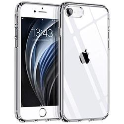 """Clear Case for iPhone 8/7/SE 2020 - Syncwire Anti-Yellowing Anti-Scratch Shock Absorption Protective Cover 4.7"""" Compatible with iPhone 8/7/SE 2020 - Transparent"""