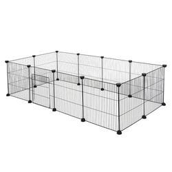 Parc clôture en fer pour animaux domestiques, chenil pour chiot, entraînement à la maison bricolage