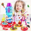 Pâte à modeler pour enfants, jouets éducatifs 3D créatifs, Kit d'outils de Plasticine, bricolage,