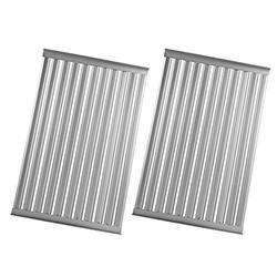 MixRBBQ 2 Pack Stainless Steel Gas Grill Grate for Solaire AGBQ/IRBQ 27G Grills, 11.375 x 13.875-Inch (SOL-2713R), Heavy Duty Cooking Grate Flavorizer Bars Replacement Kit