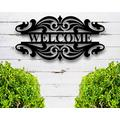 daoyiqi Personalized Name Signs Mental Custom Last Sign Metal Welcome Sign Outdoor Welcome Sign Housewarming Gift Realtor Closing Gift Welcome Sign Home Metal Welcome Sign Wedding Gift 18 Inch