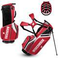Wisconsin Badgers WinCraft Caddie Carry Hybrid Golf Bag