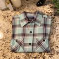 American Eagle Outfitters Shirts | American Eagle Mens Sz S Ls Shirt | Color: Green | Size: S
