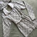 Lululemon Athletica Jackets & Coats | Lululemon Waterproof Hood Rain Jacket Trench Coat | Color: Gray/White | Size: M
