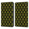 Head Case Designs Officially Licensed Batman DC Comics Patterns Logos Leather Book Wallet Case Cover Compatible with Fire HD 8/Fire HD 8 Plus 2020