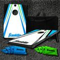 Franklin Sports Bluetooth Cornhole - Target & Bags - Carry Bag -Bluetooth Speakers in Blue/Green/Indigo, Size 36.0 H in   Wayfair 52124