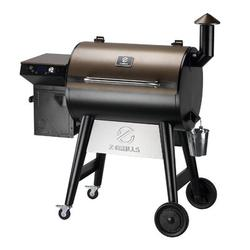 Z GRILLS 7002F 2021 Upgraded Wood Pellet Grill Smoker Portable For Outdoor BBQ Cooking, 8 In 1 BBQ Grill & Smoker w/ Digital Temperature Control