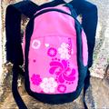 Adidas Bags | Adidas Floral Mini Backpack | Color: Black/Pink | Size: Os