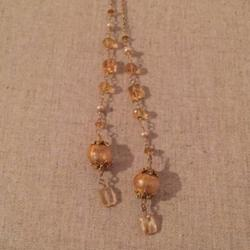 Anthropologie Jewelry | Anthropologie | Necklace | Lariat Necklace | Color: Gold | Size: Os