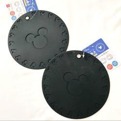 Disney Kitchen | Disney Mickey Mouse Silicone Pot Mats | Color: Black | Size: Os