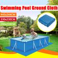 Couverture gonflable de piscine, tissu de sol, 445x24/330x23/290x210CM