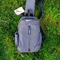 Nike Bags | Nike Sling Bag Backpack | Color: Gray/Red | Size: Os