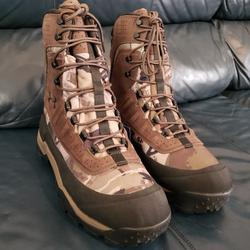 Under Armour Shoes   Armour Brow Tine 2.0 Camo Hunting Boots Men'S 12   Color: Brown/Tan   Size: 12