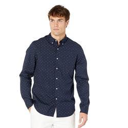 J. Crew Shirts | J.Crew Classic Stretch 98% Organic Cotton Shirt | Color: Blue | Size: L