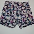 Lululemon Athletica Shorts | Lululemon Special Print High Waist Short 4 Size 8 | Color: Purple/White | Size: 8