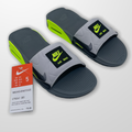 Nike Shoes   Nike Air Max 90 Slide Ct5241-001, Women 5   Color: Gray/Green   Size: 5