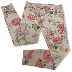 Ralph Lauren Jeans | Denim & Supply Ralph Lauren Floral Skinny Jean | Color: Cream/Pink | Size: 30