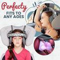 Bébé siège auto tête soutien sûr enfants confortable tête cou oreiller réglable ceinture fixation