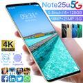 "Galxy – smartphone Note25U, 6 go, 2021 go, 128 ""HD, téléphone intelligent, double SIM, 8 cœurs,"