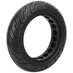 Scooter Tyre Solid Tire, 10x2.50C Anti‑Explosion Rubber Tire Scooter Tire Wheel Front/Rear Tire Replacement for Ninebot MAX G30 Scooter