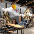 YTJBEI Wallpaper Custom-Made Photo 3D Non-Woven Mural Picture 3D World Famous Building Painting Living Room 3D Wall murals-350 X 254 cm