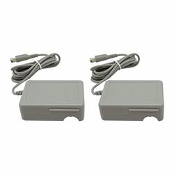 Vicue 2pcs AC Adapter Home Wall Charger Cable for Nintendo DSi/ 2DS/ 3DS/ DSi XL System