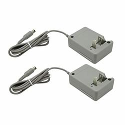 Vicue AC Adapter Home Wall Charger Cable for Nintendo DSi/ 2DS/ 3DS/ DSi XL System 2pcs