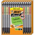 Xtra-Smooth Mechanical Pencil, Medium Point (0.7 mm), 40-Count, Black #2 Pack