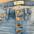 Madewell Jeans   Madewell Cropped Jeans   Color: Blue   Size: 25p