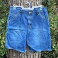 Levi's Shorts   Levis Red Tag Denim Blue Jean Carpenter Shorts 34   Color: Blue   Size: 34