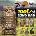 100L grand sac à dos militaire Molle Camping sac à dos tactique sac à dos hommes randonnée escalade