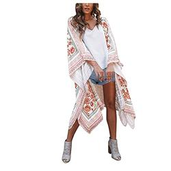 black cardigan mesh swimsuit cover ups for women plus size swimsuits for women tankini tops for women swimwear Floral Kimono Cardigan Swimwear Bathing