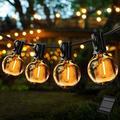 Outdoor String Lights,ZHENREN 25 Feet G40 Globe Patio Lights with 25 Edison Glass Bulbs,Waterproof Patio String Lights,Decorative Waterproof Hanging Lights String for Backyard Pergola Party Porch Cafe