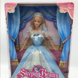 Disney Toys   Disney Sleeping Beauty Barbie Doll, Vintage   Color: Blue/Pink   Size: Normal Size Barbie