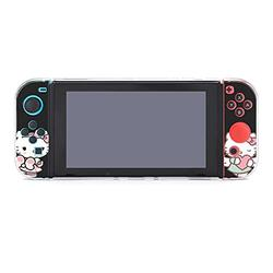 Hello Kitty Hello Kitty Hello Kitty The Personalizedcase for Nintendo Switch Protective Case Cover for Nintendo Switch and Hard Shell Protective Cover Joy-Con Controller NDS GAME accessories