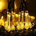 AdoDecor Solar Light Solar Light 5M 7M LED String Lights Fairy Lights Solar Garland Garden Wedding Holidays Christmas Decoration Outdoors