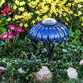 Solar Lights Outdoor Flower Solar Light, Led Garden Light & Pathway Lamp Solar Garden Stake Lights, Solar Flowers Lights Waterproof Decorative Garden Stakes for Garden Patio Yard