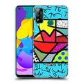 Head Case Designs Officially Licensed Britto Juicy Abstract Illustrations 2 Hard Back Case Compatible with Huawei Honor Play 4T