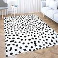 Gray Area Rug 5X7,Shorping Play Area Rug Winter Rug Christmas Area Rugs Small Dot Pattern Painted Circles with Rough Modern Home Carpet,Fun Area Rug,Floor Mats for Home Bedroom,Large Area Rugs