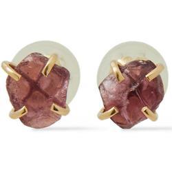 Melissa Joy Ning 14-karat Rhodolite Earrings - Metallic - Melissa Joy Manning Earrings